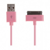 iPhone USB kabel roze