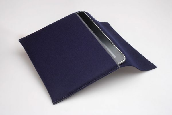 iPad Rewrap Eco Friendly Hoes Marine Blauw