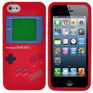 iPhone 5 Gameboy Hoesje Rood