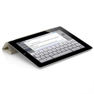iPad Air Smart Cover Wit 3
