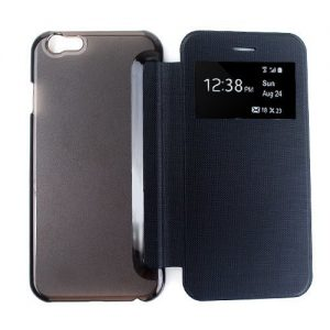 iPhone 6 view Cover zwart