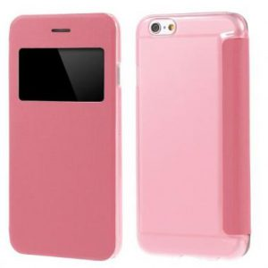 iPhone 6 View Cover Roze