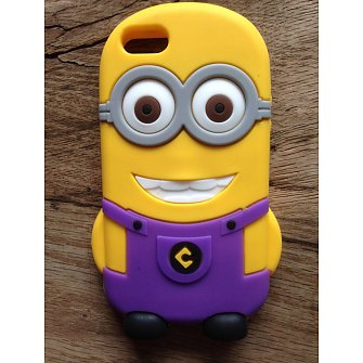 iPhone 5 Hoesje Despicable Me Paars
