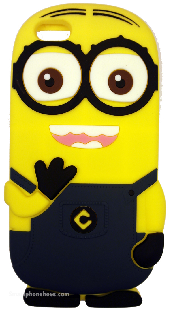 iPhone 6 Plus Hoesje Despicable Me Donker Blauw