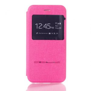 iPhone 6 Plus Flip Cover Roze.