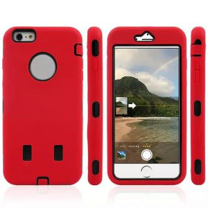 iPhone 6 Plus Combo Hoesje Rood