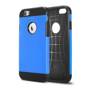 iPhone 6 Plus Tough Armor Hoesje Blauw.