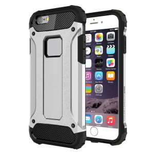 iPhone 6 Plus Shock Proof Hoesje Zilverkleurig