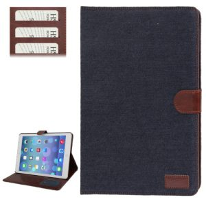 iPad Air Cover Jeans Style Donker Blauw