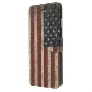 iPhone 6 Wallet Book Case Vintage USA