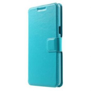 Samsung Galaxy A5 Wallet Case Blauw.