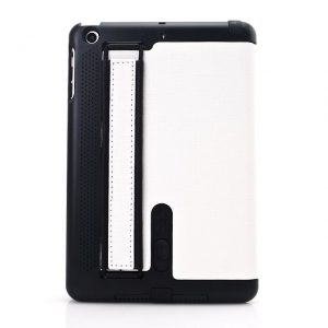 iPad Mini Hoes Stand Cover Wit
