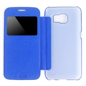 Samsung Galaxy S6 View Cover Blauw.