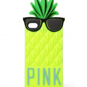 iPhone 6 Plus hoesje Ananas Geel
