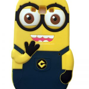 Samsung Galaxy A7 Hoesje Despicable Me Donker Blauw