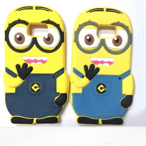 Samsung Galaxy S6 Hoesje Despicable Me Donker Blauw
