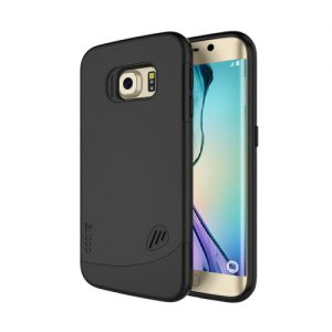 Samsung Galaxy S6 Edge Backcover Combo Zwart