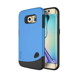 Samsung Galaxy S6 Edge Backcover Combo Blauw