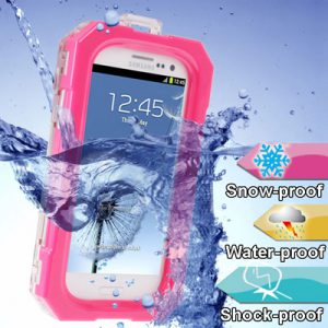 Universele Waterproof Case Roze