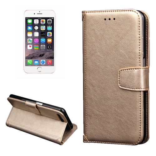 iPhone 7 Plus Wallet Hoesje Goudkleurig