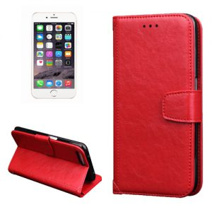 iPhone 7 Plus Wallet Hoesje Rood