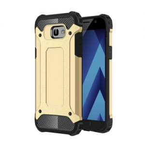 Samsung Galaxy A5 (2017) Shock Proof hoesje Goudkleurig